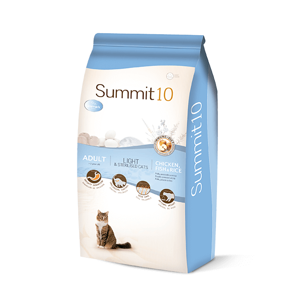 Summit 10 Life Stages gato esterilizado