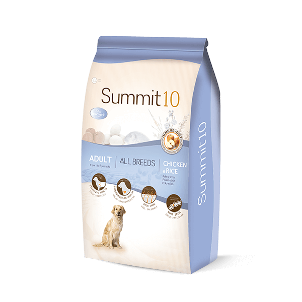 Summit 10 Life Stages perro adulto pollo patata