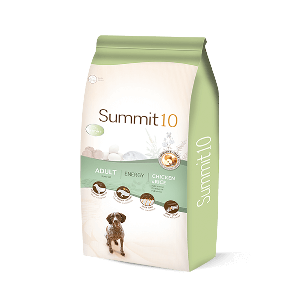 Summit 10 Life Stages active dog