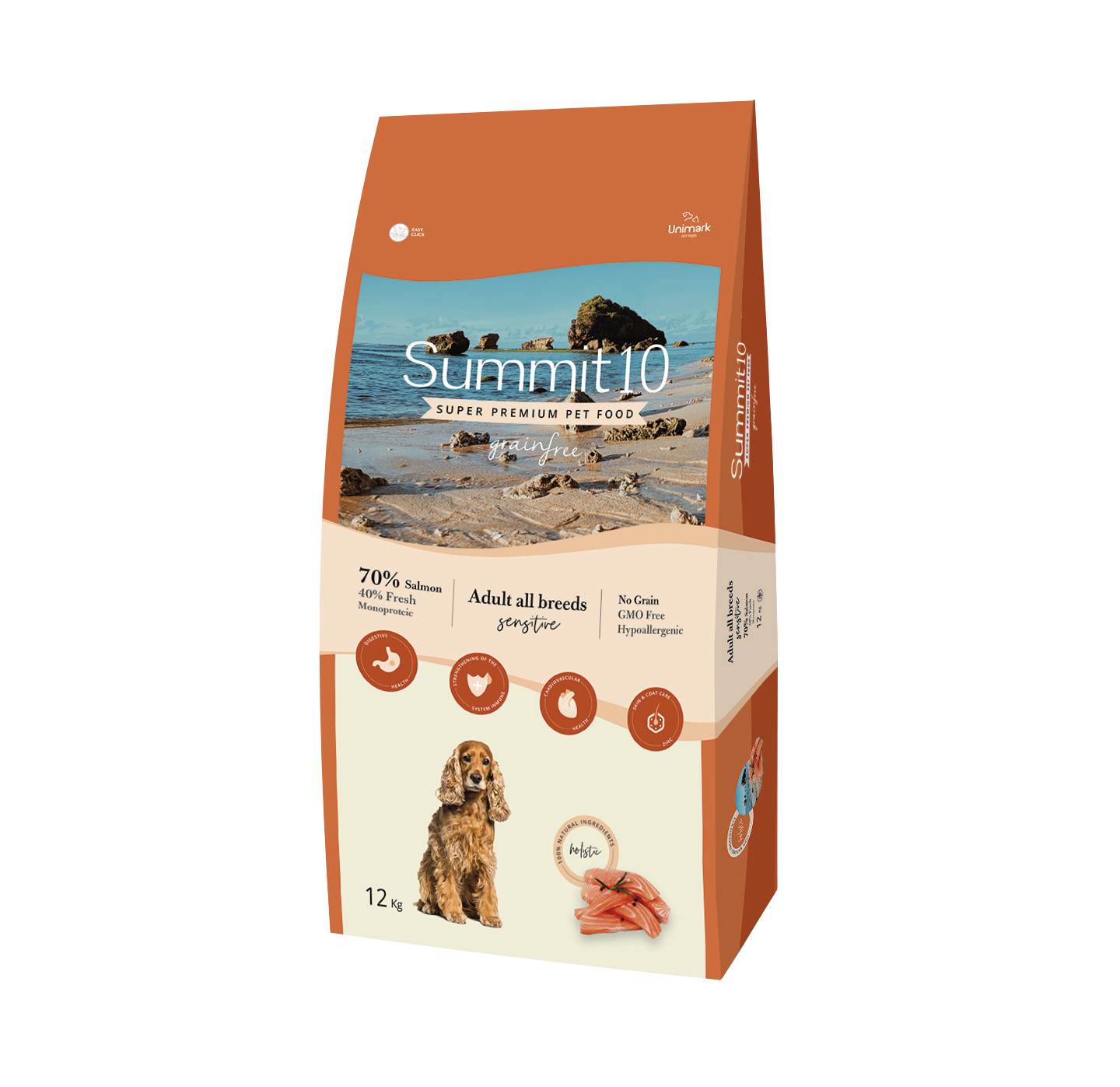 Summit 10 Grain Free Dog Food Salmon