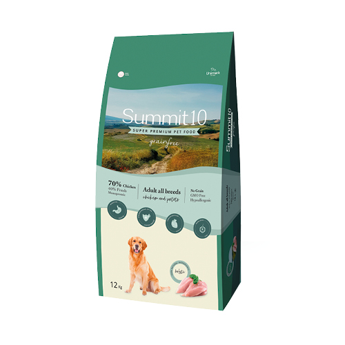 Summit 10 Grain Free Perro adulto pollo