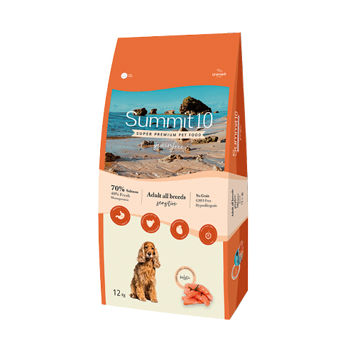 Summit 10 Grain Free Perro adulto salmon